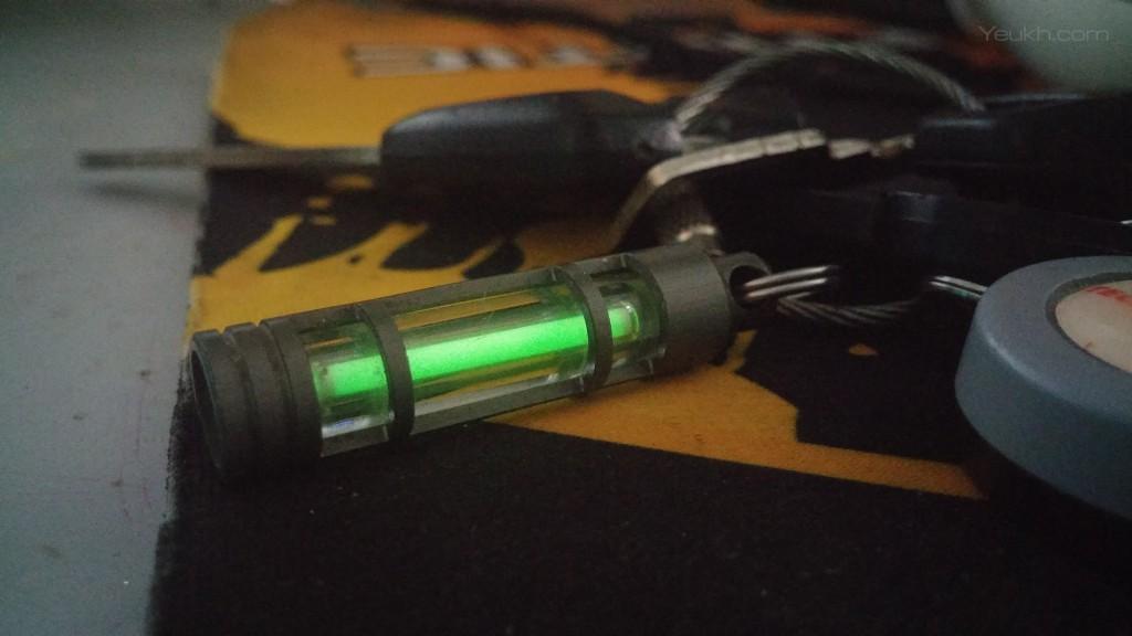 Ống phóng xạ tritium được mua từ một thành viên EDC