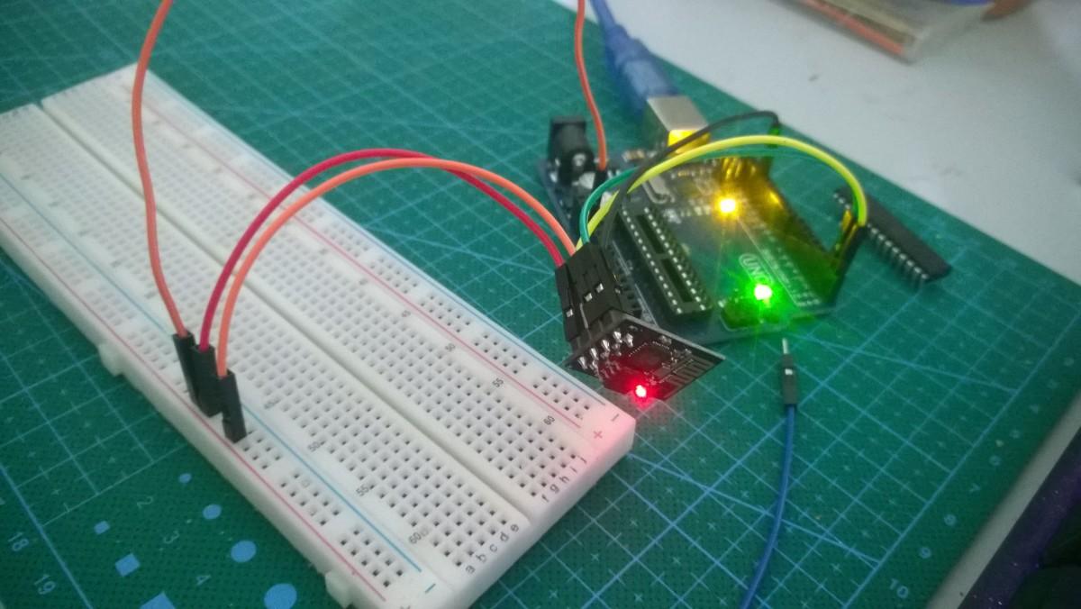 Có thể kết nối trực tiếp pin TX của Arduino UNO với esp8266