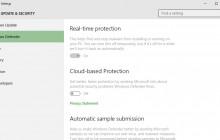 Windows 10 – Tắt Window Defender chỉ với 1 click chuột