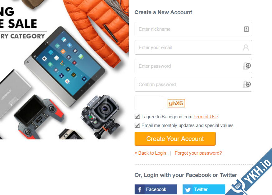 banggood-new-account