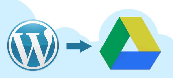 Hướng dẫn tự động  backup WordPress lên Google Drive