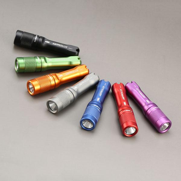 Astrolux A01 có nhiều màu sắc khác nhau để lựa chọn